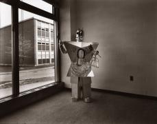 untitled (from the series, Uranium Robots), 1976, vintage gelatin silver print
