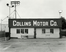 Collins Motor Co., San Diego, CA, 2017, gelatin silver contact print