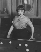 Brassai Girl Playing Snooker, Montmartre
