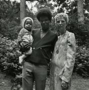 Couple with Child, Golden Gate Park, San Francisco 1968
