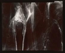 Moment, 1976, From Ephemera Portfolio, Toned gelatin silver print, 4 1/4 x 5 inches