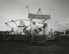 Trabant, Flaxton, North Dakota, 1977, vintage gelatin silver print