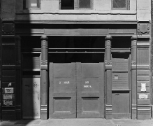 Bevan Davies, 440 Broome Street, New York City, 1970