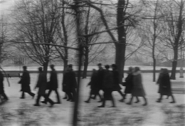 Pedestrians, from Moving Points of View, 1973