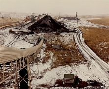 David T. Hanson, Coal storage area and railroad tipple, Coltrip, MT, 1984