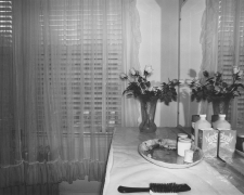 #16 dressing table, Washington DC, 1977-1978
