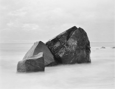 3 Rocks, Tasman Sea, 2003, gelatin silver print