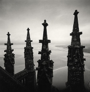 Four Finials, Mont St. Michel, France, 2000,