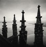 Four Finials, Mont St. Michel, France, 2000,