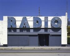 Radio, Pico Boulevard, Los Angeles, chromogenic print