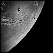 025, The Ocean of Storms and the Known Sea, Apollo 16, April 16-27, 1972, digital c-print, 39.5 x 39.5 inches