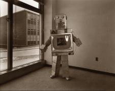 untitled (from the series,Uranium Robots), 1976, vintage gelatin silver print