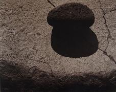 A Stone on a Rock, Nagano, Japan, 1988,