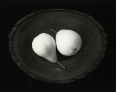 Two Pears, Cushing Maine, 1999, gelatin silver print