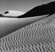 Ansel Adams Dunes, Oceano, California, 1963, gelatin silver print
