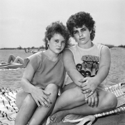 Two Girls at the Beach, 1983-84