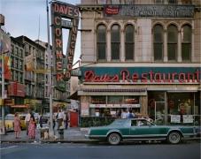 Dave's Restaurant, New York, 1984, digital chromogenic print