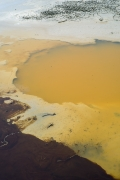 Fracking Pond: Ackerly, Texas., from the series,Beneath the Dirt of Great Men