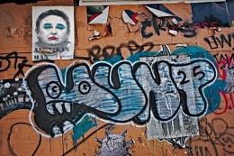 Mad Man Graffiti, Los Angeles, California, 2012