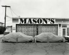 Mason's Garage, San Diego, CA, 2017, gelatin silver print