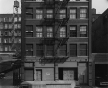 144 Wooster Street, New York, 1976