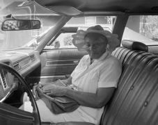 Lula, Mississippi - Woman in Hat, 1984