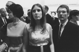 Opening of an art exhibition, Detroit, 1968