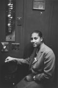 Elevator operator, Detroit, 1968