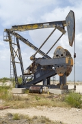 Oil Pump Jacks: Rankin, Texas, from the series,Beneath the Dirt of Great Men
