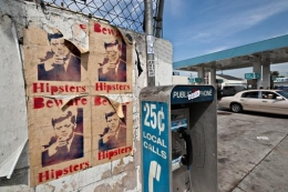 JFK and Payphone , Los Angeles, California, 2011
