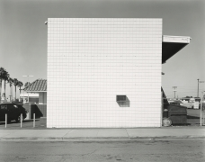 Industrial Building, National City, 2019, gelatin silver contact print