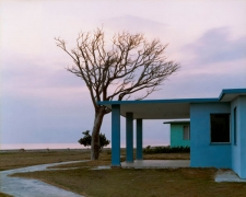 Tourist cabins at Playa Girón, 2004, chromogenic print