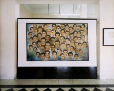 Portrait of 61 Rebels that Were Killed In Retaliation for the 26th of July, 1953, Attack on Moncada, Santiago de Cuba, 2004