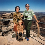 Family at South Rim, Grand Canyon National Park, Arizona