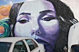 BMW Auto Repair Mural, San Diego, California, 2011
