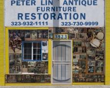 Peter Lin Antique Furniture, Pico Boulevard, Los Angeles, chromogenic print