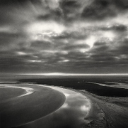 Early Cloud Cover, Mont St. Michel, France, 1994,