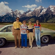 Roger Minick, Family at Grand Tetons National Park, Wyoming
