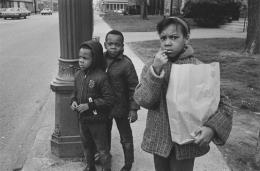 Neighborhood children, Detroit, 1968