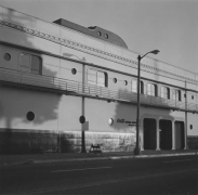 Coca Cola Bottling Plant, Centered near 14th, Los Angeles, CA, 1976