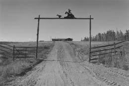 Calf Roper Ranch Entrance, Rte. 54, 1977