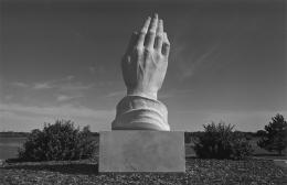 Praying Hands Monument, near Wichita, 1976