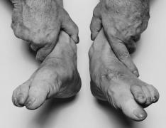 Hands Holding Feet, 1985