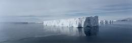Tabular Iceberg, Fazil Ice, Amundsen Sea, Southern Ocean, Antarctica