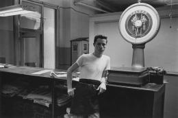 Typesetter at work, 1968