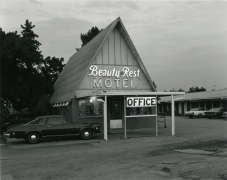 George Tice Beauty Rest Motel, Route 1, Edison, New Jersey