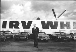 Terry Wild Used Car Dealer, LA, 1971