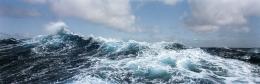 Swell, near 50°S, Southern Ocean, Antarctica
