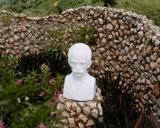 Plastic Bust of José Martí (1853-1895), Trinidad, 2004, chromogenic print
