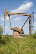 Oil Pump Jacks: Big Lake, Texas, from the series,Beneath the Dirt of Great Men